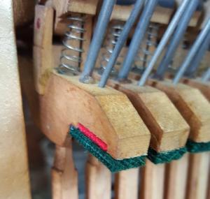 Victor Acion Piano Re-felting 2