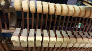 Victor Acion Piano Re-felting 3