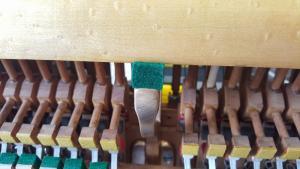 Victor Acion Piano Re-felting 8